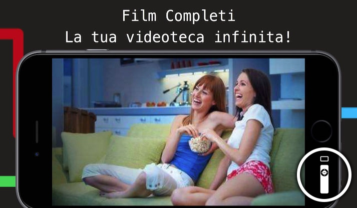 film completi tube l 39 app per vedere film su youtube. Black Bedroom Furniture Sets. Home Design Ideas