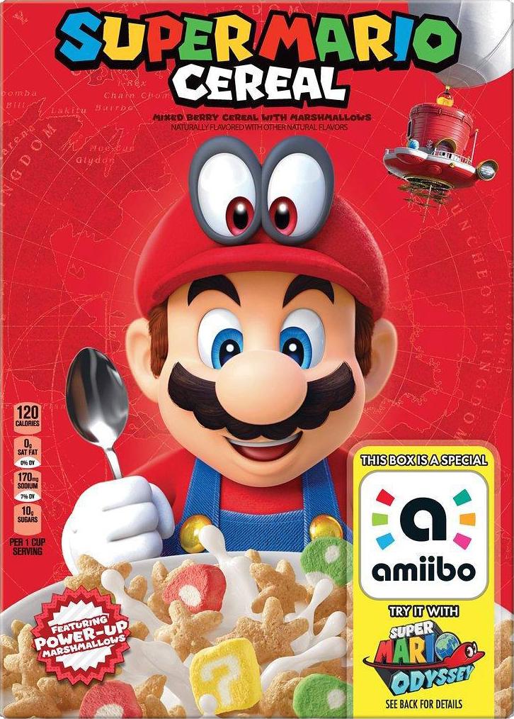Cereali Kellogg's Super Mario