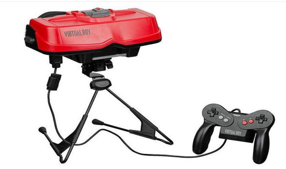 Virtual Boy - Nintendo 1995