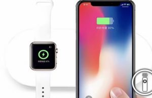 base ricarica wireless multipla iPhone e apple watch