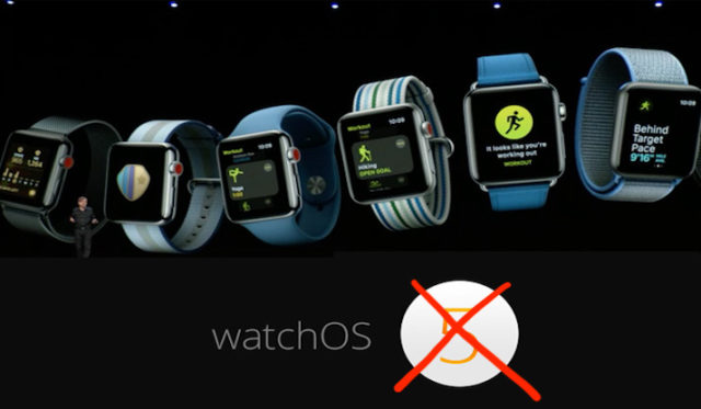 WatchOS beta 1 ritirato