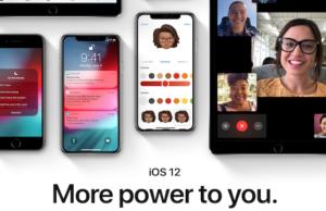 installare iOS 12