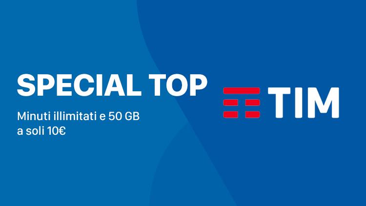 TIM Special Top 50GB, nuova offerta anti Iliad