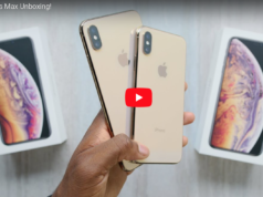 unboxing iPhone xs e xs MAx