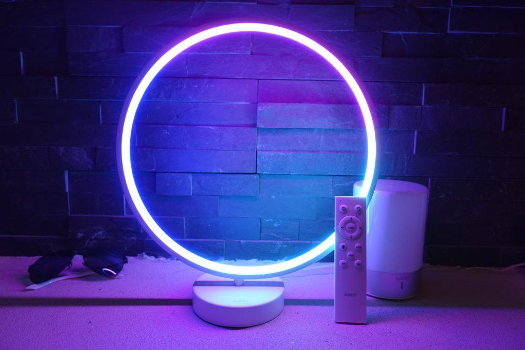 recensione lampada Aukey aura