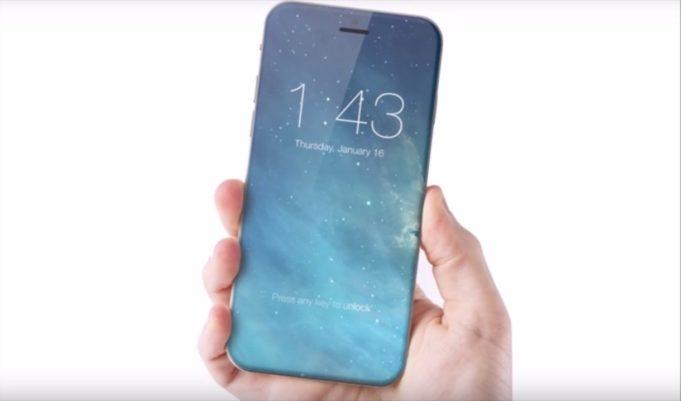 iPhone totalmente in vetro