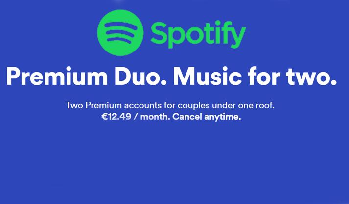 Spotify Premium Duo: in arrivo un nuovo abbonamento