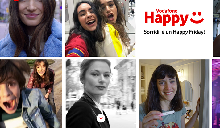 Vodafone Happy Friday: Happy Black gratis per un mese