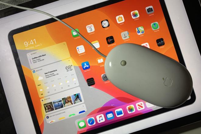 Come usare il mouse su iPad