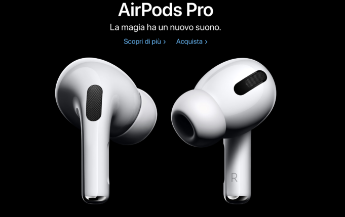 airpods pro ufficiali