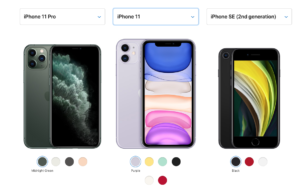 line-up Apple