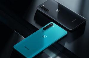 OnePlus Nord Blue e Grey