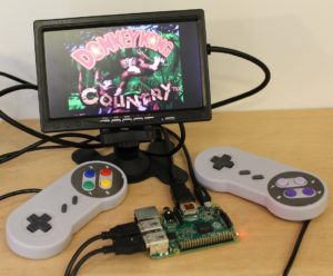 Retrogaming con un Raspberry Pi