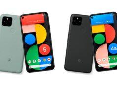 Pixel 5 e Pixel 4a 5G
