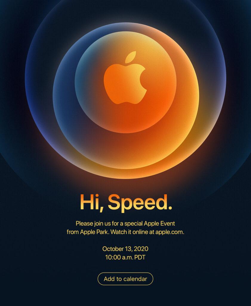 Evento iPhone 12