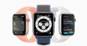 Apple Watch con watchOS 7
