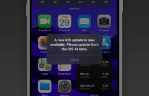 iOS 14 beta