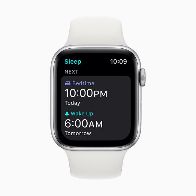 watchOS 7: monitoraggio del sonno