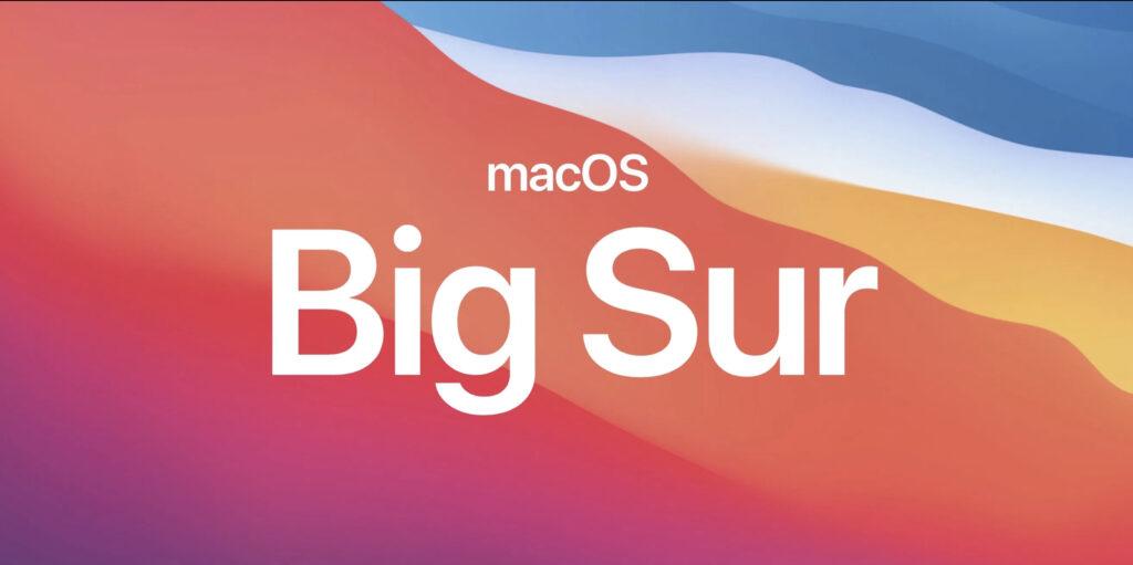 Macos Big Sur
