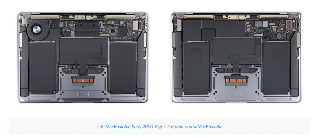 teardown MacBook