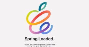 Evento Apple di Aprile