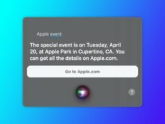 Siri evento