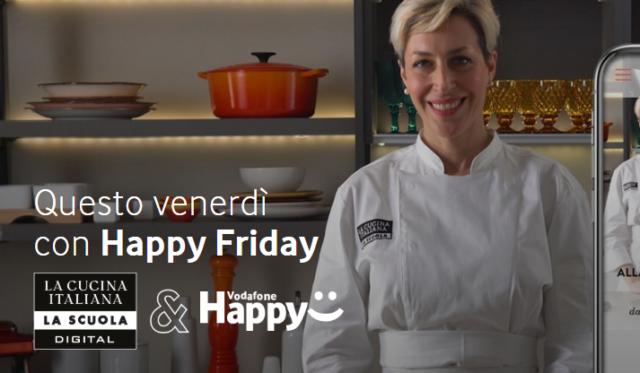 Un mese di corso la cucina italiana con happy friday itechmania - Corso cucina italiana ...