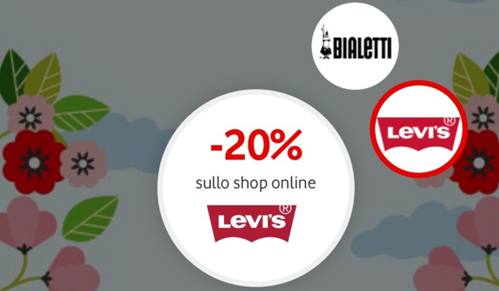 Sconti Levi's, Bialetti e Outlet Village con Happy Friday