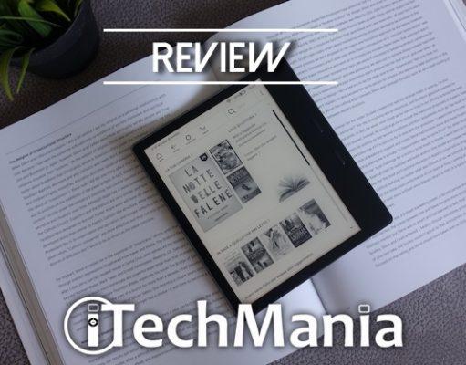 Recensione Kindle Oasis 2019