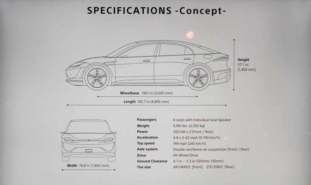 concept car sony