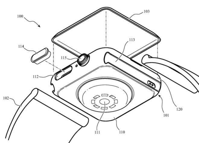 Apple Watch plastica