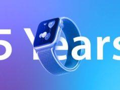 Apple Watch 5 anni