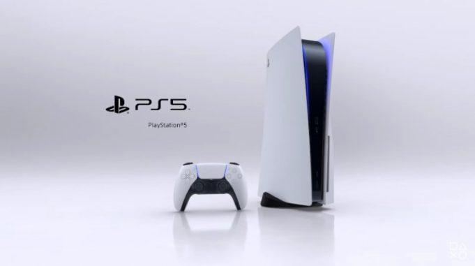 Design ufficiale PS5