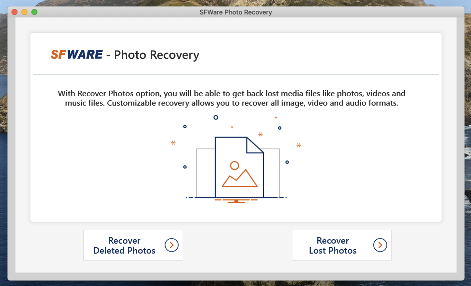 SFWare Photo Recovery