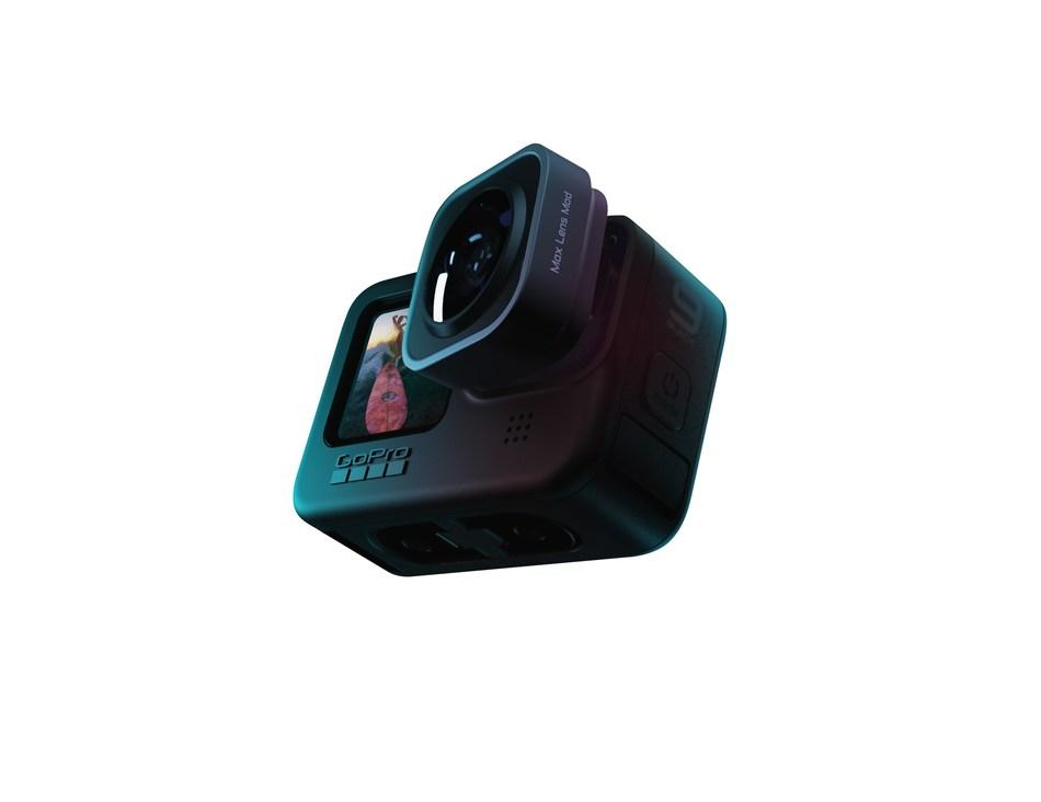 Intercambiabilitá delle lenti nella GoPro Hero 9 Black