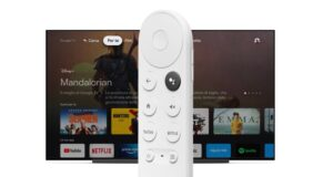 Chromecast con Google TV: telecomando e interfaccia grafica
