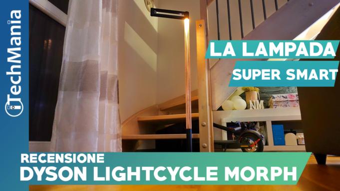 Dyson Lightcycle Morph recensione itechmania