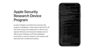Apple Security Program