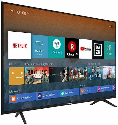 migliori smart tv 2021