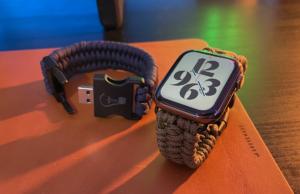 Cinturini Apple Watch in Paracord